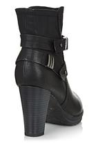 Franco Gemelli - Dakota Ankle Boots with Straps Black