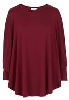 Isabel de Villiers - Burgundy cover up tunic Dark Red