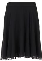 edit - A-line Skirt Black