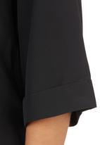STYLE REPUBLIC - High-neck Top Black