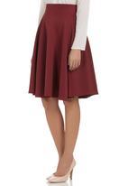 Suzanne Betro - Midi Skirt Red