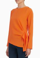 STYLE REPUBLIC - Structured Blouse Orange