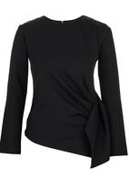 STYLE REPUBLIC - Structured Blouse Black