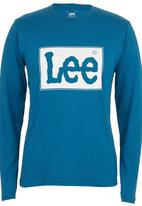 Lee  - Reflection T-shirt Mid Blue Mid Blue