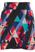 Paramita - Abstract-print Mini Skirt Multi-colour