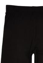 See-Saw - Plain Leggings Black