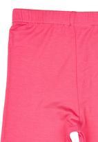 See-Saw - Printed Leggings Dark Pink