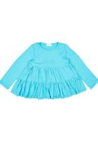 See-Saw - Tiered Top Turquoise