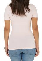 edit - Wrap T-shirt Pale Pink