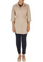 edit - Longer Length Shirt Stone/Beige