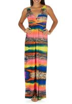 Revenge - Maxi Dress with Stripes Multi-colour