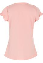 POP CANDY - Lace Back Top Mid Pink