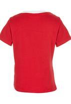 See-Saw - Printed Tee Red