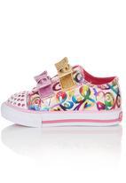 Skechers - Sneaker With Glitter Bows Multi-colour