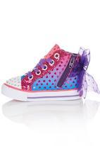 Skechers - Hi-Top Sneaker With Ribbon Detail Multi-colour