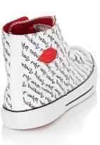 Dickies - Hi Top Sneaker White