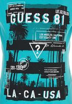 GUESS - S/S Palm  81 Tee Turquoise