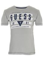 GUESS - S/S Guess Tape Tee Grey