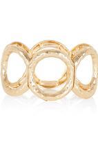edit - Elasticated Circle Bracelet Gold