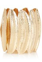 edit - Banana Leaf Shaped Bracelet Gold