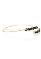 edit - Double Strand Diamante Bangle Gold