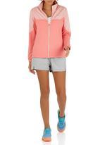 Erke - Full Zip Sweatshirt Pale Pink