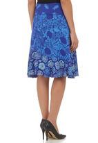Sway - Gypsy Midi Skirt Multi-colour