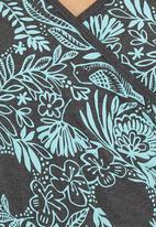 Sway - Sybil Mock Wrap Top Multi-colour
