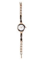 edit - Dainty Resin Inset Bracelet Strap Watch Black