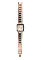 STYLE REPUBLIC - Diamante Bezel Watch Black
