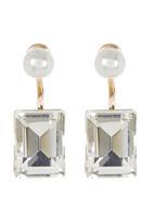 STYLE REPUBLIC - Combo Swing Earrings Pearl