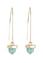 c(inch) - Marble-effect Drop Earrings Silver