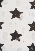 Ketz-ke - Star-print T-shirt Black/White
