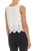 Ketz-ke - Cut-out Tank with Studs White