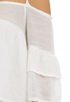Ketz-ke - Off-the-shoulder Blouse White
