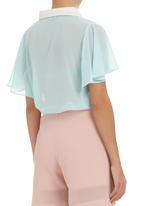 STYLE REPUBLIC - Mint boxy shirt Light Green