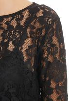 edit - Lace Blouse Black