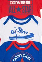 Converse - 3-Piece Babygro Multi-Colour