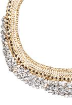 STYLE REPUBLIC - Diamante Dynasty Neckpiece Gold