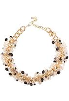 STYLE REPUBLIC - Ornate Bead Necklace Gold