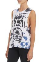 RVCA - Tie-dye Anchor T-shirt Multi-colour