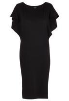 ERRE - Wide Sleeve Dress Black