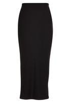 ERRE - Midi Pencil Skirt Black