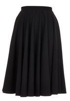 ERRE - Stretch Circle Skirt Black