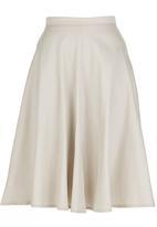 STYLE REPUBLIC - Midi Skirt Stone