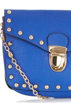 c(inch) - Studded Mini Cross-body Bag Cobalt