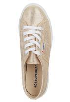 SUPERGA - Glitter Sneaker Gold