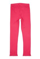 Eco Punk - Cerise leggings Dark Pink