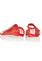 shooshoos - Butterfly Ballet Pumps Red