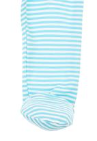 Toro Kids Clothing - Striped Baby Leggings Mid Blue Mid Blue